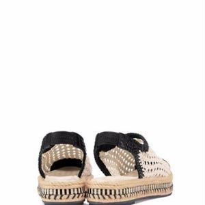 bc39b6ac797b Tory Burch Shoes - Dandy Flat Espadrille Dulce De Leche Black Sandal